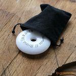 Marmor Ring mit Gravur zur Hochzeit