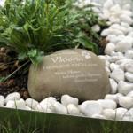 Gedenkstein Wacken für Gräber mit Name